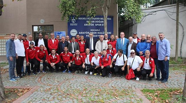 Kıbrıslı spor ailesi Kocaeli'de buluştu