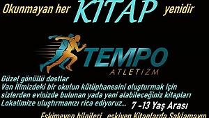 TEMPO ATLETİZM İYİLİĞE KOŞUYOR