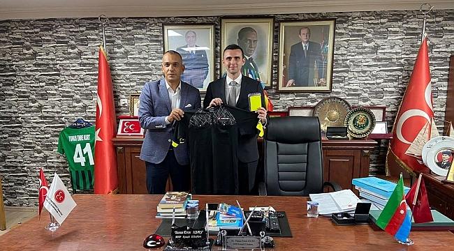 TFFHGD KOCAELİ KURT'U TEBRİK ETTİ